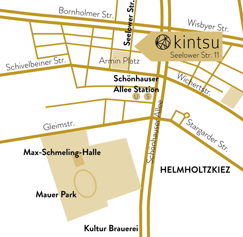 kintsu Map
